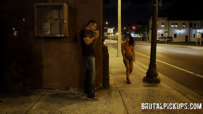 Tiny Latina girl Holly Hendrix is plucked from the street to be a sex slave